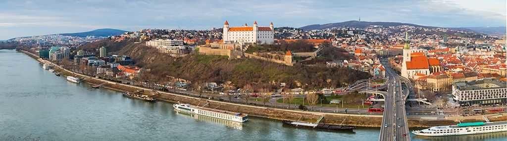 Bratislava panorama transfers